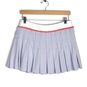 NIKE Pleated Tennis Skirt Large Active Golf Large